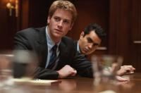 THE SOCIAL NETWORK, from left: Armie Hammer, Max Minghella, 2010. ph: Merrick Morton/©Columbia Pictures