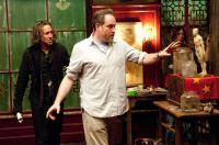 THE SORCERER'S APPRENTICE, from left: Nicolas Cage, director Jon Turteltaub, on set, 2010. Ph: Abbot Genser/©Walt Disney Co
