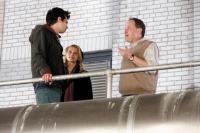 THE SORCERER'S APPRENTICE, from left: Jay Baruchel, Teresa Palmer, director Jon Turteltaub, on set, 2010. ph: Robert Zuckerman/©Walt Disney Co
