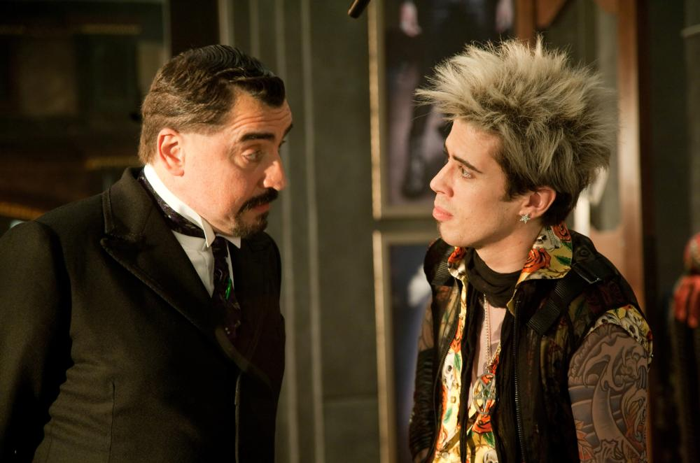 THE SORCERER'S APPRENTICE, from left: Alfred Molina, Toby Kebbell, 2010. ph: Eric Liebowitz/©Walt Disney Co