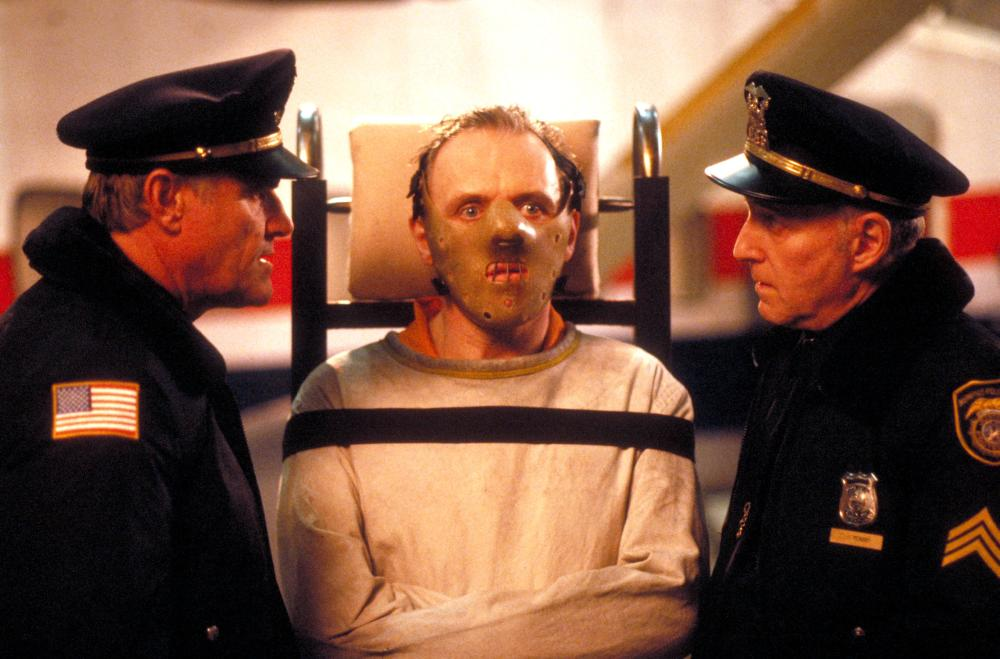 SILENCE OF THE LAMBS, Charles Napier, Anthony Hopkins, 1991, (c) Orion