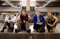SHE'S OUT OF MY LEAGUE, from left: Jay Baruchel, T.J. Miller, Nate Torrence, Mike Vogel, 2010. ph: Darren Michaels/©DreamWorks SKG