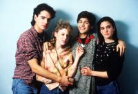 SEVEN MINUTES IN HEAVEN, from left: Alan Bouce, Maddie Corman, Byron Thames, Jennifer Connelly, 1985, © Warner Brothers