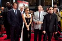 SEX AND THE CITY 2, Chris Noth (front left), Tim Gunn (back, left of center), Sarah Jessica Parker (center of frame), Willie Garson (eyeglasses), Mario Cantone (front right), 2010. ph: Craig Blankenhorn/©Warner Bros