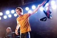 SCOTT PILGRIM VS. THE WORLD, from left: Alison Pill, Michael Cera, 2010. Ph: Kerry Hayes/©Universal