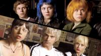 SCOTT PILGRIM VS. THE WORLD, top, from left: Michael Cera, Mary Elizabeth Winstead, Alison Pill, bottom, from left: Aubrey Plaza, Brandon Routh, Brie Larson, 2010. Ph: Double Negative/©Universal