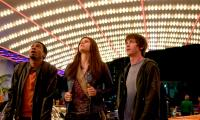 PERCY JACKSON & THE OLYMPIANS: THE LIGHTNING THIEF, from left: Brandon T. Jackson, Alexandra Daddario, Logan Lerman, 2010. Ph: Doane Gregory/TM and ©Copyright Fox 2000 Pictures. All rights reserved.