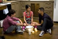 THE PEOPLE I'VE SLEPT WITH, from left: Rane Jameson, Karin Anna Cheung, Wilson Cruz, 2009. ©People Pictures