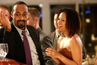 PETER AND VANDY, from left: Jesse L. Martin, Tracie Thoms, 2009. Ph: Carrie Leonard/©Strand Releasing