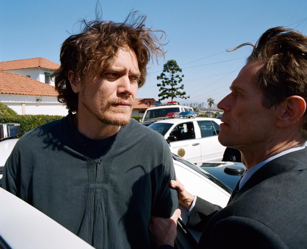 MY SON, MY SON, WHAT HAVE YE DONE, from left: Michael Shannon, Willem Dafoe, 2009. ©Unified Pictures