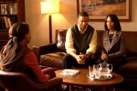 MOTHER AND CHILD, from left: Shareeka Epps, David Ramsey, Kerry Washington, 2009. ph: Ralph Nelson/©Sony Pictures Classics