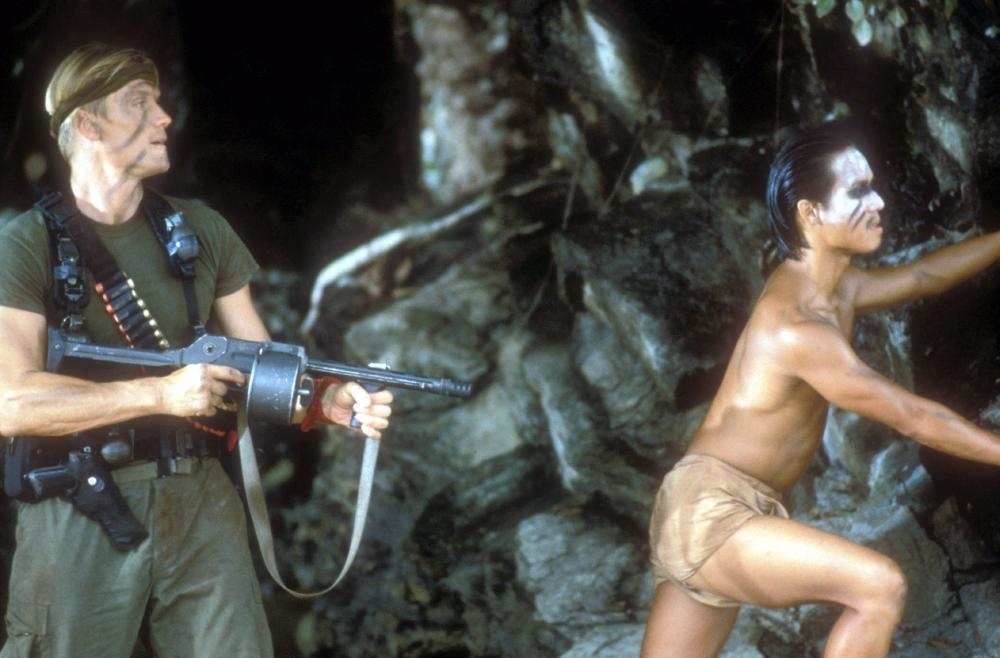 MEN OF WAR, Dolph Lundgren (left), 1994. ©Miramax