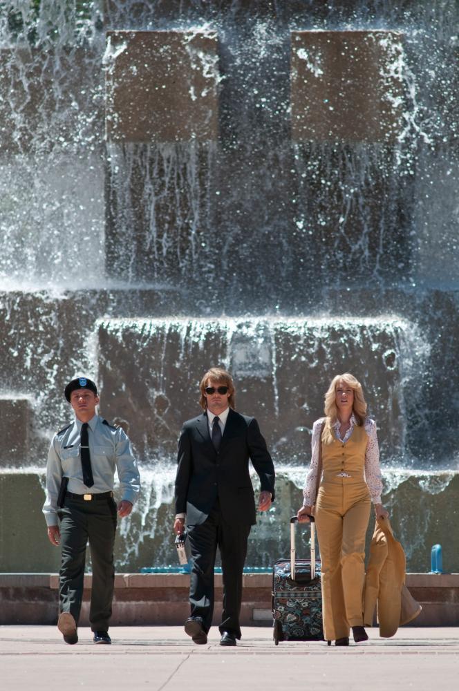 MACGRUBER, from left: Ryan Phillippe, Will Forte, Kristen Wiig, 2010. Ph: Greg Peters/©Universal