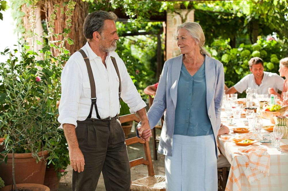 LETTERS TO JULIET, from left: Franco Nero, Vanessa Redgrave, 2010. ©Summit Entertainment