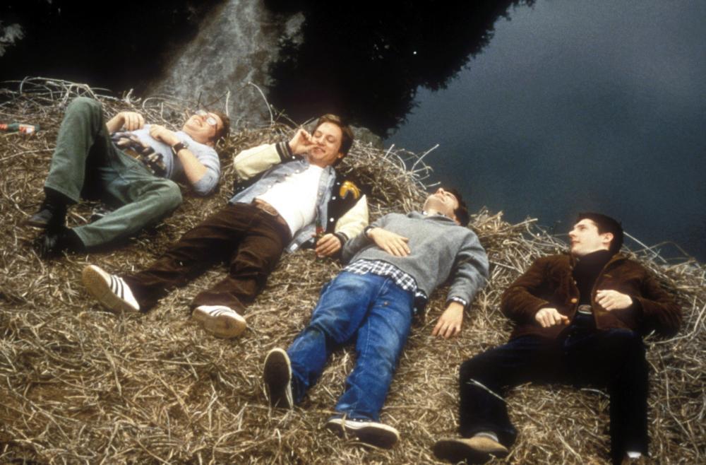 THE LESSER EVIL, Jonathan Scarfe, Steven Petrarca, Adam Scott, Marc Worden, 1998. ©Orion Home Entertainment