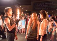 THE LAST SONG, foreground from left: Nick Lashaway, Carly Chaikin, Miley Cyrus, 2010. ph: Sam Emerson/©Walt Disney Studios Motion Pictures