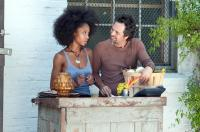 THE KIDS ARE ALL RIGHT, from left: Yaya DaCosta, Mark Ruffalo, 2010. ph: Suzanne Tenner/©Focus Features