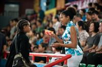 THE KARATE KID, from left: Jaden Smith, Taraji P. Henson, 2010, ph: Jasin Boland/©Columbia Pictures
