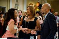 JUST WRIGHT, foreground from left: Paula Patton, Queen Latifah, Common, 2010. Ph: David Lee/©Fox Searchlight