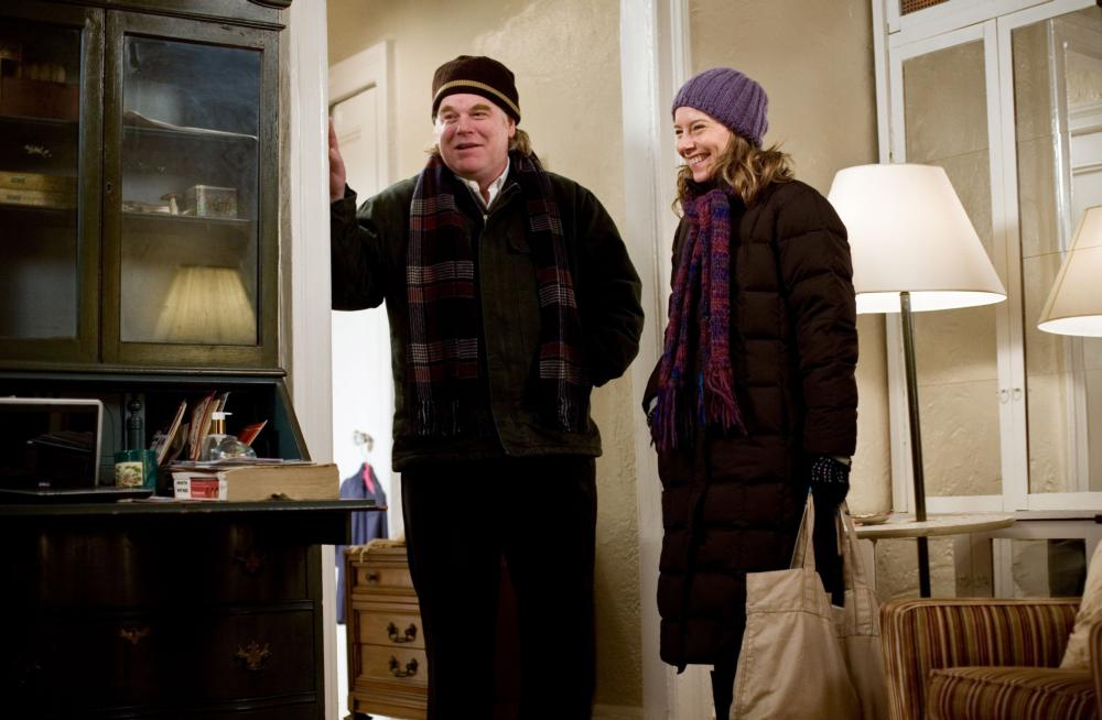 JACK GOES BOATING, from left: Philip Seymour Hoffman, Amy Ryan, 2010, ph: K.C. Bailey/©Overture Films