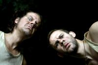 I SELL THE DEAD, from left: Larry Fessenden, Dominic Monaghan, 2008. ph: Lee Nussbaum/©IFC Films