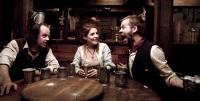 I SELL THE DEAD, from left: Larry Fessenden, Brenda Cooney, Dominic Monaghan, 2008. ph: Lee Nussbaum/©IFC Films