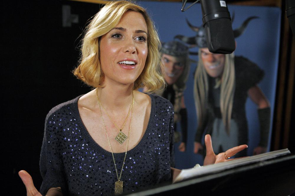 HOW TO TRAIN YOUR DRAGON, Kristen Wiig, voice of Ruffnut, 2010. ©Paramount Pictures