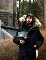 THE HOUSE OF THE DEVIL, director Ti West, on set, 2009. ©Magnet Releasing