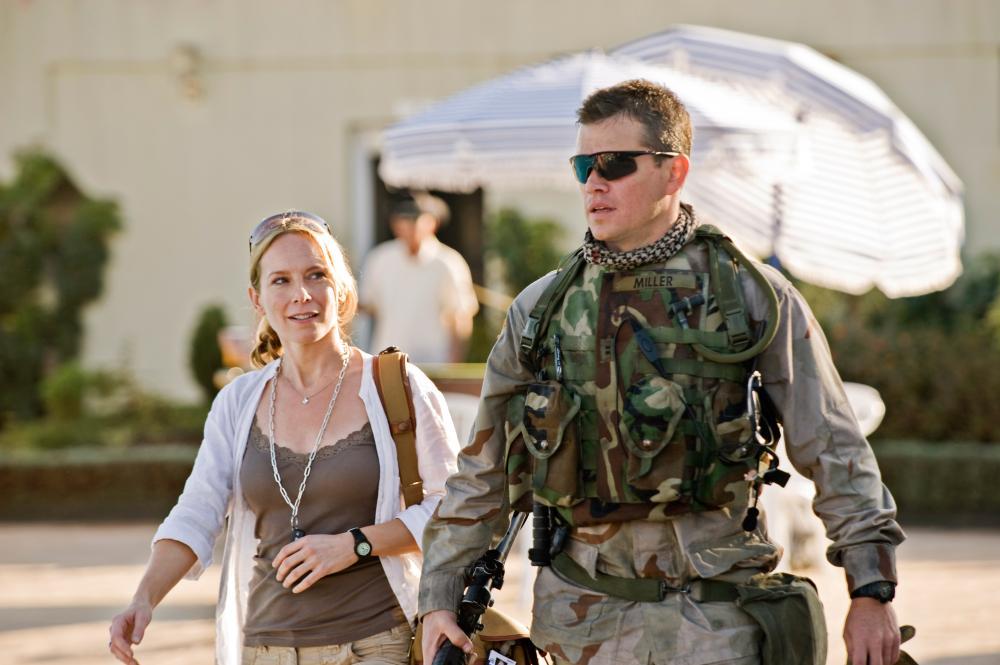 GREEN ZONE, from left: Amy Ryan, Matt Damon, 2010. ph: Jasin Boland/©Universal