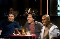 THE 40 YEAR OLD VIRGIN, Seth Rogen, Paul Rudd, Romany Malco, 2005, (c) Universal