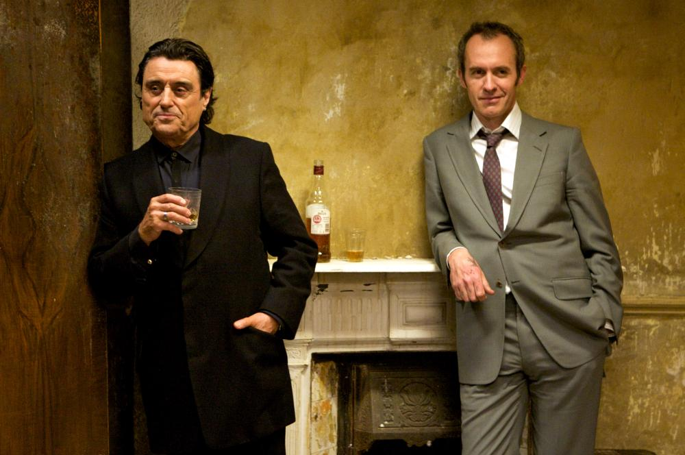 44 INCH CHEST, from left: Ian McShane, Stephen Dillane, 2009. ©Image Entertainment