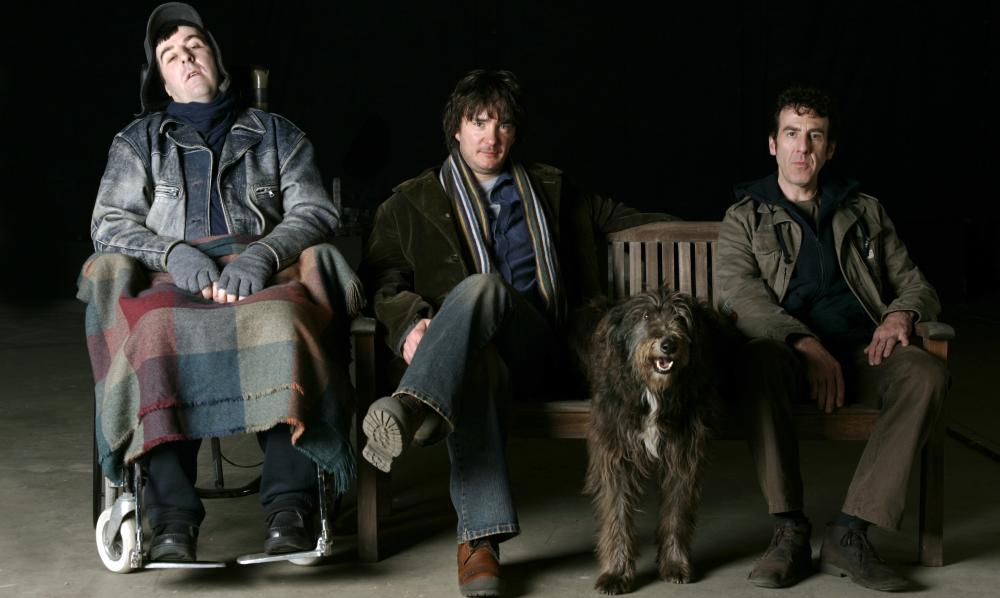 A FILM WITH ME IN IT, from left: David Doherty, Dylan Moran, Mark Doherty, 2008. ©Maximum Film Distribution