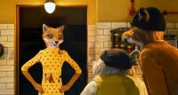 FANTASTIC MR. FOX, from left: Mrs. Fox (voice: Meryl Streep), Kylie (voice: Wally Wolodarsky), Mr. Fox (voice: George Clooney), 2009. ph: Greg Williams/TM and copyright ©Fox Searchlight. All rights reserved