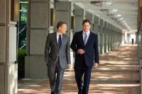 EXTRAORDINARY MEASURES, from left: Jared Harris, Brendan Fraser, 2010. ph: Merie Wesimiller Wallace/©CBS Films