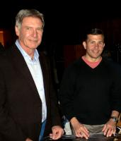EXTRAORDINARY MEASURES, from left: Harrison Ford, John Crowley, on set, 2010. ph: Merie Wesimiller Wallace/©CBS Films