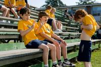 DIARY OF A WIMPY KID, from left: Zachary Gordon, Robert Capron, Grayson Russell, 2010, ph: Rob McEwan/TM & Copyright ©20th Century Fox Film Corp. All rights reserved.
