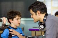 DIARY OF A WIMPY KID, from left: Zachary Gordon, director Thor Freudenthal, on set, 2010, ph: Rob McEwan/TM & Copyright ©20th Century Fox Film Corp. All rights reserved.