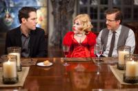 DINNER FOR SCHMUCKS, from left: Paul Rudd, Jeff Dunham, 2010. Ph: Merie Weismiller Wallace/©Paramount