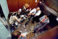 DEVIL, l-r: Logan Marshall-Green, Bojana Novakovic, Jenny O'Hara, Bokeem Woodbine, Geoffrey Arend, 2010, ph: Kerry Hayes/©Universal Pictures