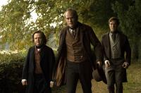 CREATION, from left: Toby Jones, Paul Bettany as Charles Darwin, Benedict Cumberbatch, 2009. ©Newmarket Films