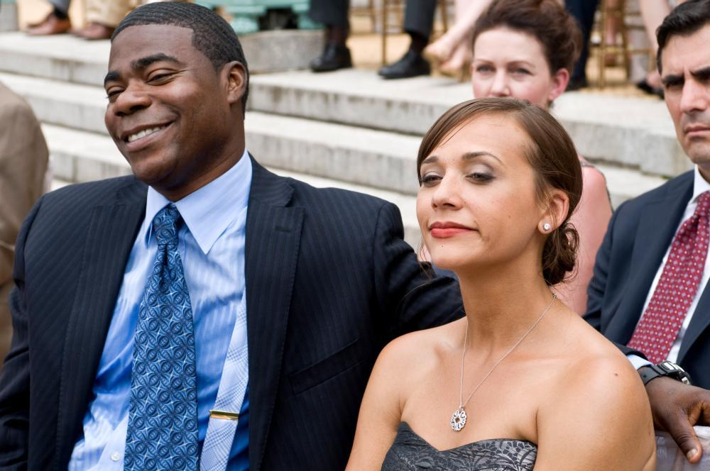 COP OUT, from left: Tracy Morgan, Rashida Jones, 2010. ph: Abbot Genser/©Warner Bros. Pictures