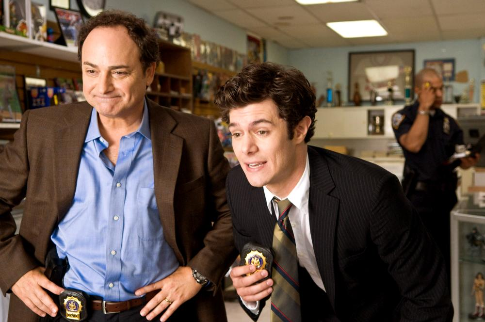 COP OUT, from left: Kevin Pollak, Adam Brody, 2010. ph: Abbot Genser/©Warner Bros. Pictures