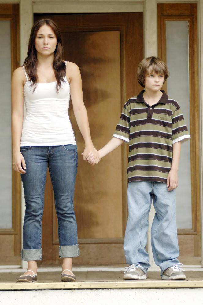BURNING BRIGHT, from left: Briana Evigan, Charlie Tahan, 2010. ©Lionsgate