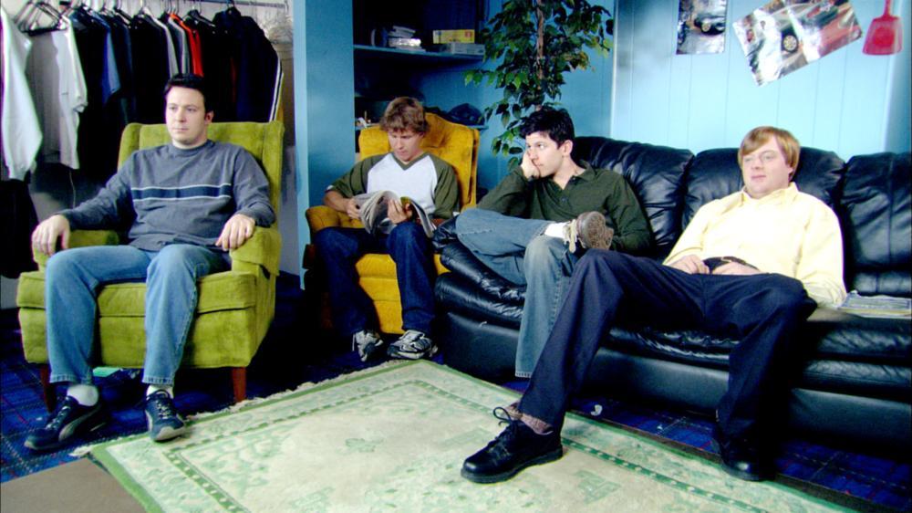 BURNING ANNIE, Jason Risner, Todd Duffey, Gary Lundy, Jay Paulson, 2004. ©Warner Bros