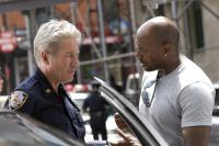 BROOKLYN'S FINEST, from left: Richard Gere, director Antoine Fuqua, on set, 2009. ph: Phillip V. Caruso/©Overture Films