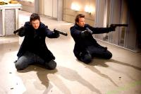 THE BOONDOCK SAINTS II: ALL SAINTS DAY, from left: Norman Reedus, Sean Patrick Flanery, 2009. ©Apparition/Courtey