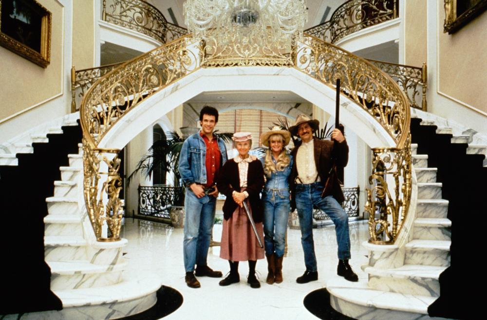 BEVERLY HILLBILLIES, Diedrich Bader, Cloris Leachman, Erika Eleniak, Jim Varney, 1993. TM and Copyright © 20th Century Fox Film Corp. All rights reserved.