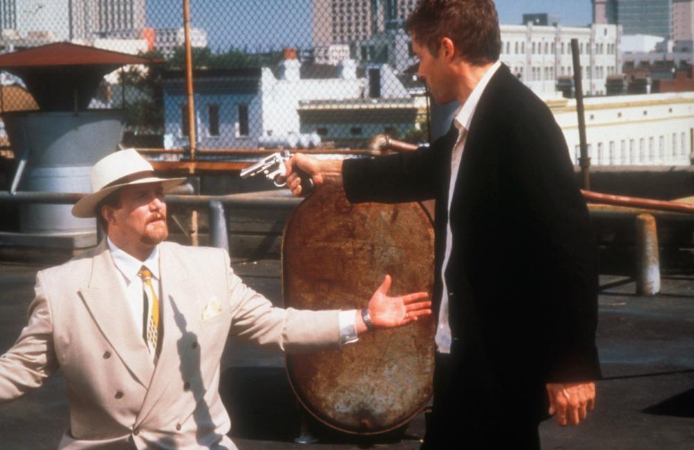 BAD CITY BLUES, Jim Metzler, Michael Massee, 1997. ©Showcase Entertainment