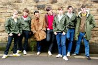 AWAYDAYS, from left: Lee Battle, Oliver Lee, Stephen Graham, Liam Boyle, Nicky Bell, Sean Ward, Michael Ryan, 2008. ©Optimum Releasing/cm