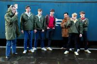 AWAYDAYS, from left: Michael Ryan, Sean Ward, Nicky Bell, Liam Boyle, Stephen Graham, Lee Battle, Oliver Lee, 2008. ©Optimum Releasing/cm